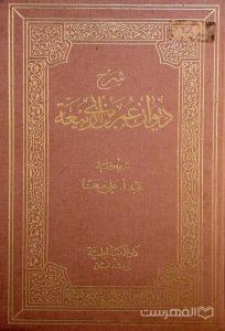 شرح دیوان عمر بن ابی ربیعة